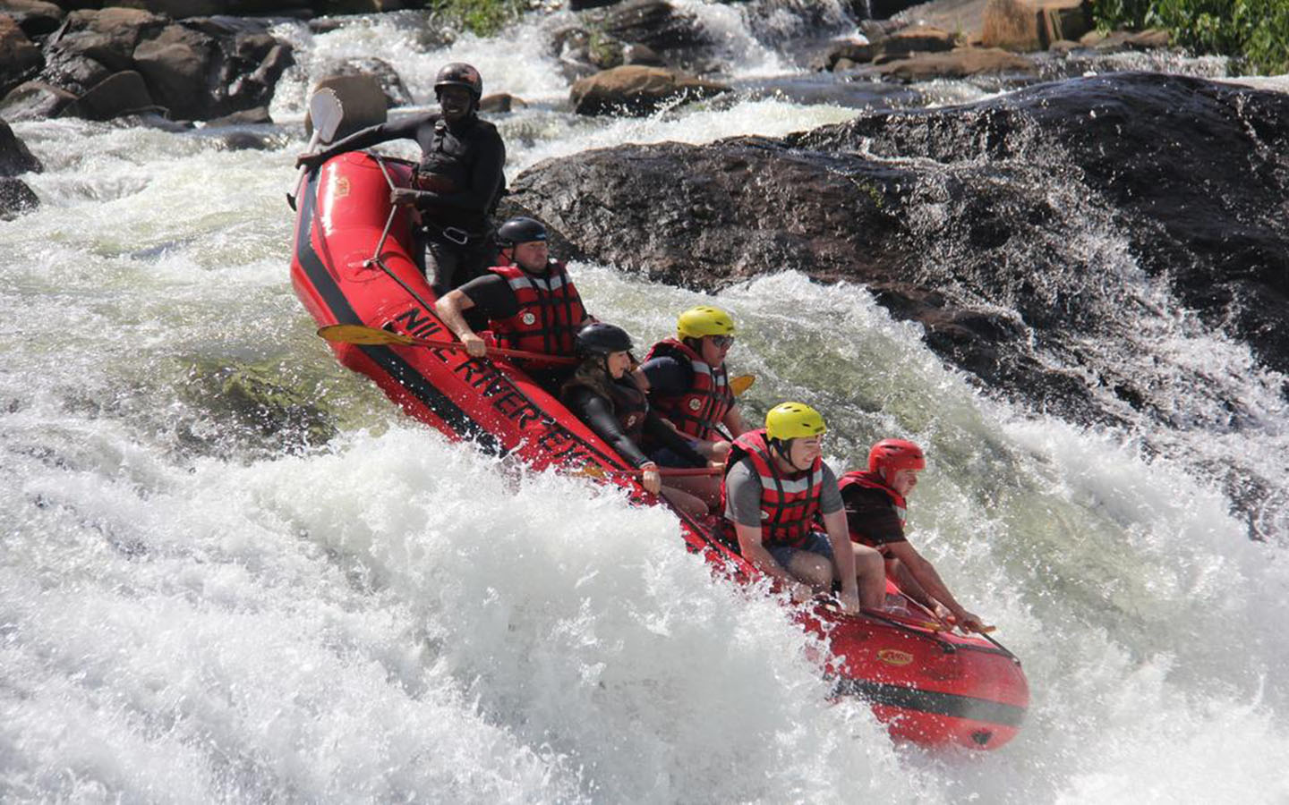 Rafting-the-nile